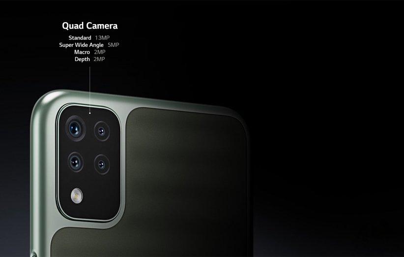 دوربین گوشی ال جی K42
