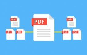 تبدیل چند فایل PDF به یک فایل