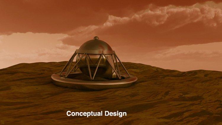 طرح مفهومی VDRM برای مأموریت به سیارهی زهره