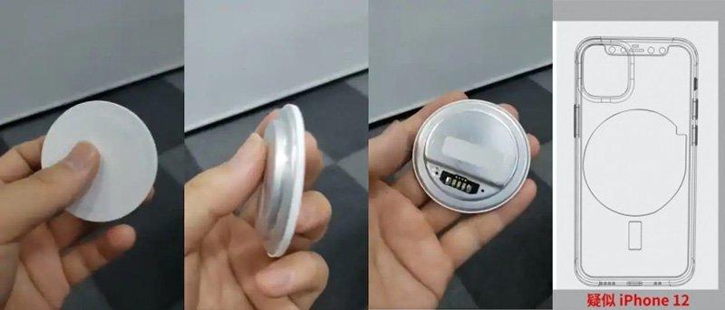 شارژر بدون سیم اپل برای آیفون 12