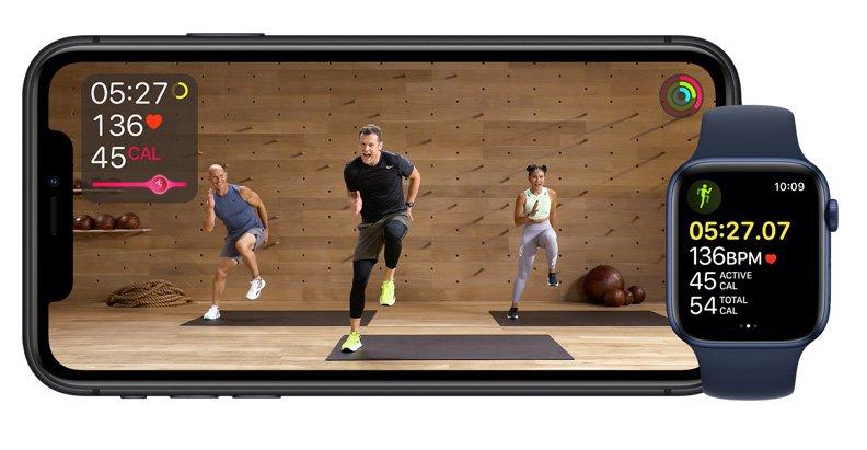 برنامه Fitness Plus اپل