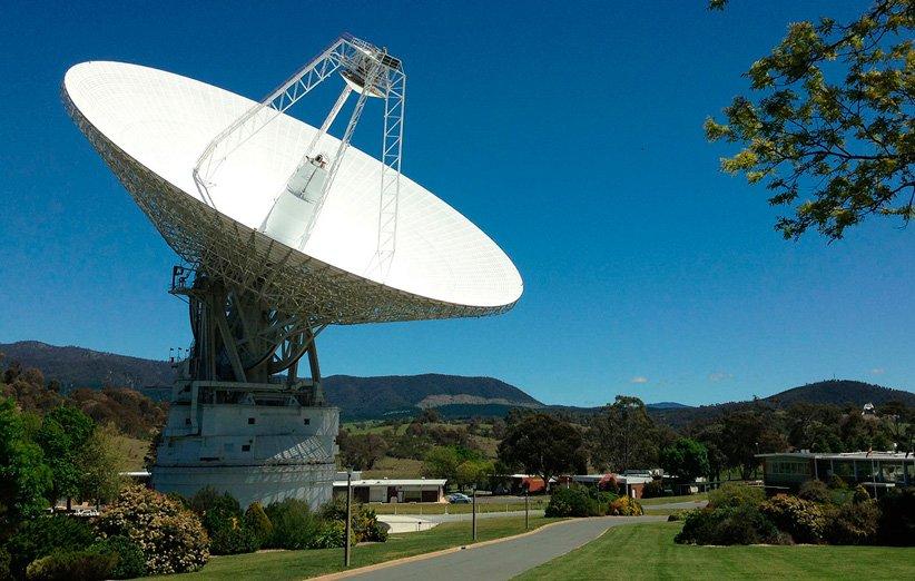 آنتن رادیویی ۷۰ متری شبکه اعماق فضا