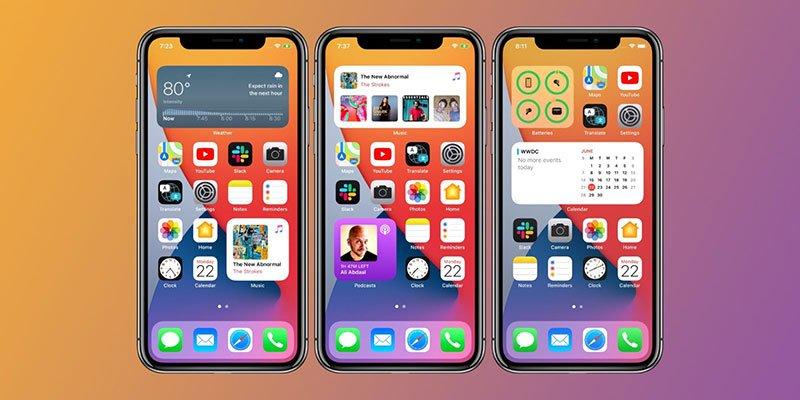 ویجتها در iOS 14