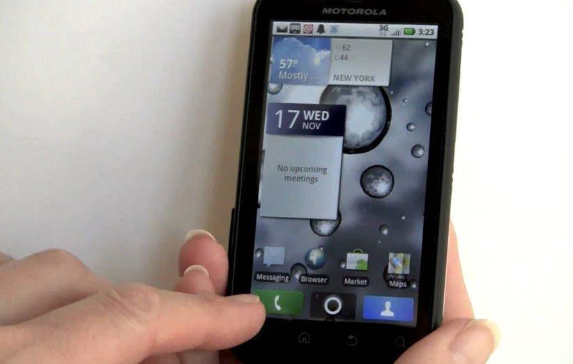 اولین موبایل ضد آب جهان