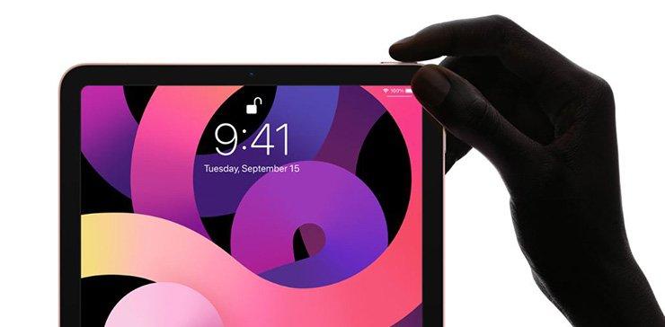 Touch ID در آیپد ایر