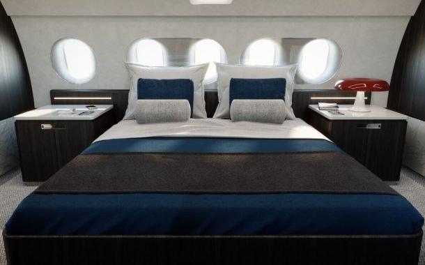 تخت خواب هواپیمای ACJ 220 ایرباس
