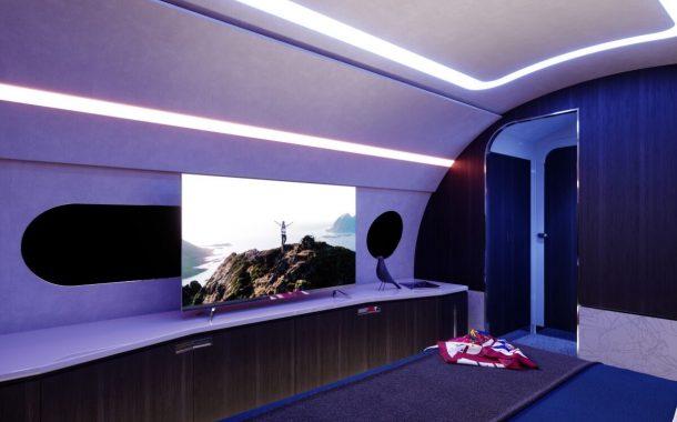 اتاق خواب هواپیمای ACJ 220 ایرباس