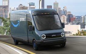 خودروی الکتریکی حمل کالای آمازون