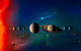 اجرام منظومه شمسی