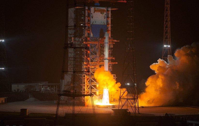 پرتاب ماهوارههای چوانگژین-5 و ماهوارهی تیانکی-6 با موشک لانگ مارچ 2-سی
