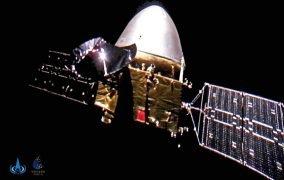 سلفی فضاپیمای تیانون-1 چین در اعماق فضا