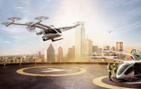 طرح مفهومی هواگرد شهری «ایو» امبرائر