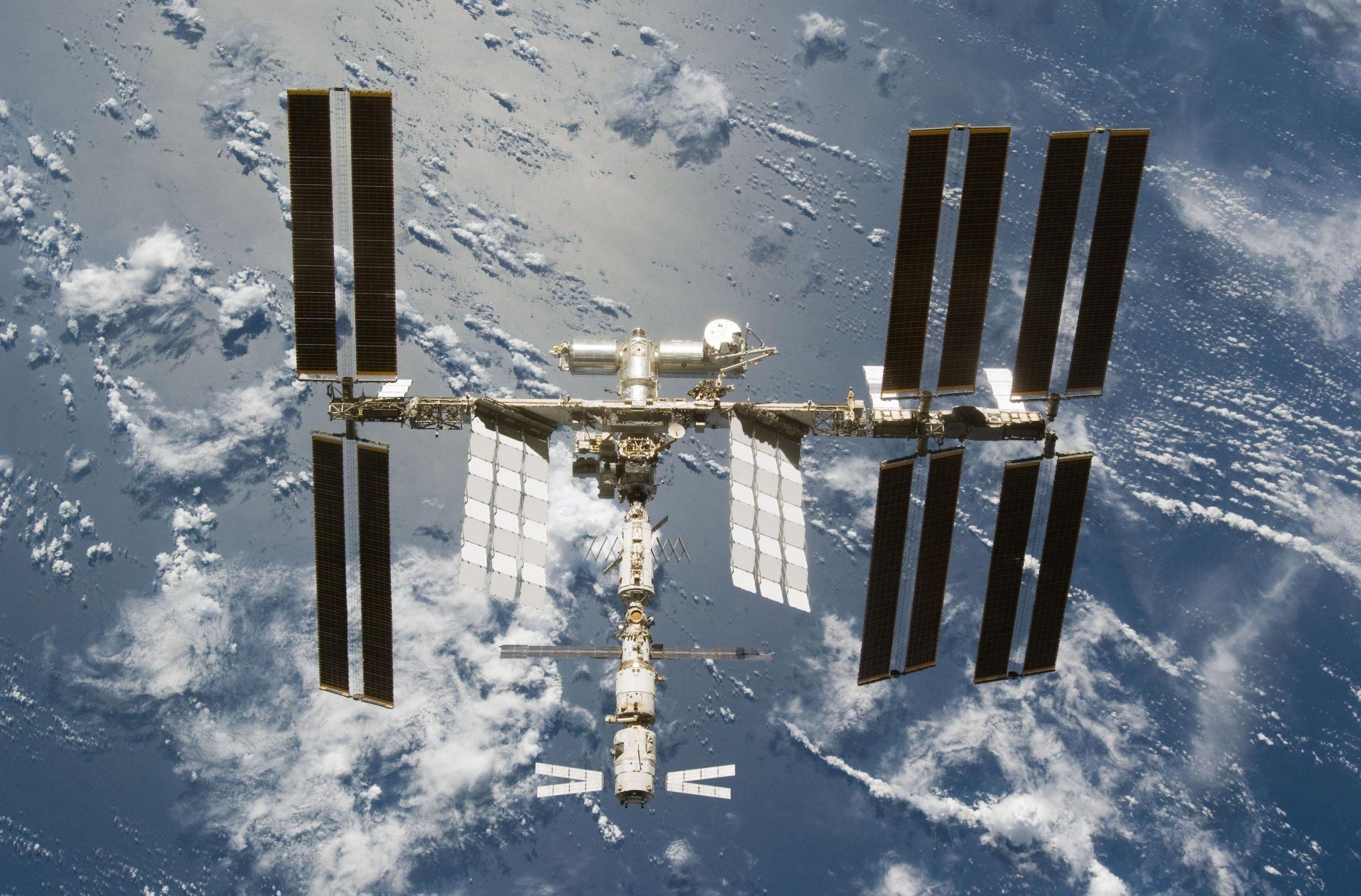 نمایی از ایستگاه فضایی بینالمللی