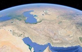 نمایی از فلات ایران