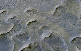 تپههای شنی باستانی در مریخ