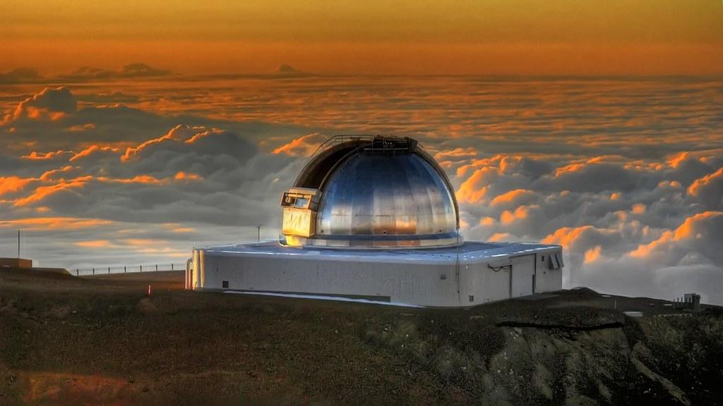 تلسکوپ فروسرخ ناسا در هاوایی