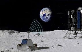 طرح گرافیکی شبکهی اینترنت نوکیا در ماه