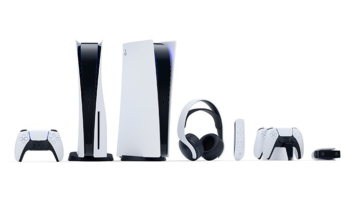 عکس PS5 و لوازم جانبی