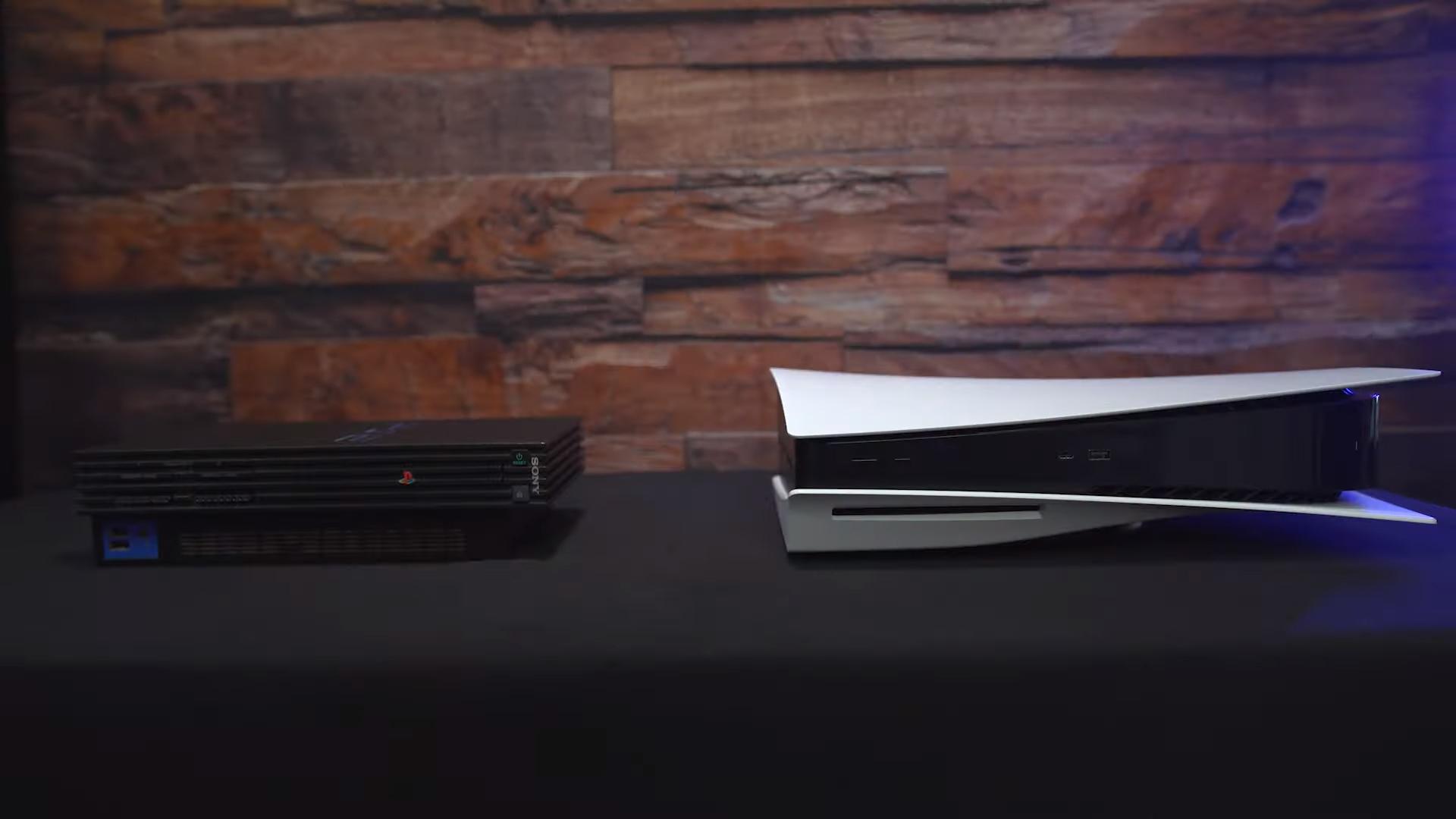 مقایسه سایز PlayStation 5