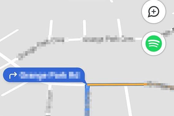 امکان انتخاب آیکونهای تازهی حالت رانندگی گوگل مپ اندروید