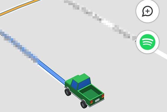 آیکون وانت حالت رانندگی گوگل مپ اندروید