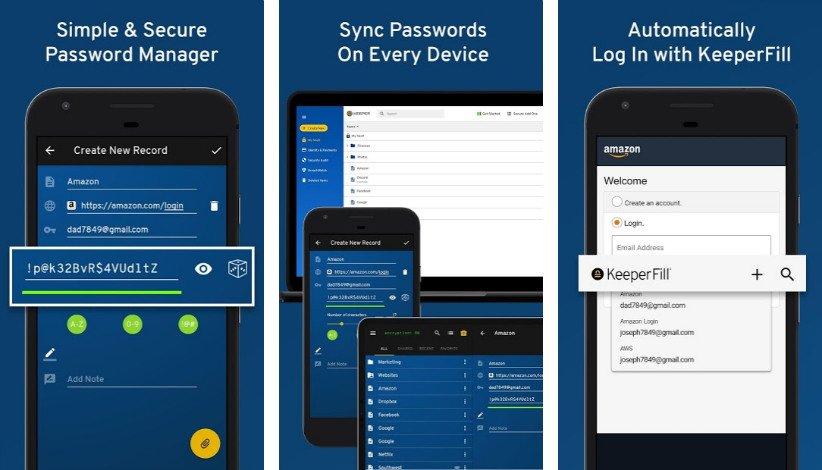 اپلیکیشن مدیریت رمز عبور