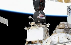 پیوستن کپسول سایوز مأموریت اعزام 64 به ایستگاه فضایی بینالمللی