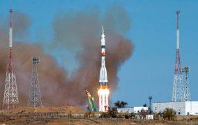 پرتاب Soyuz MS-17 به ایستگاه فضایی بینالمللی