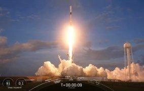 پرتاب مأموریت استارلینک 12 توسط موشک فالکون 9 اسپیسایکس