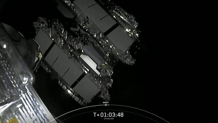 جدایش ماهوارههای استارلینک