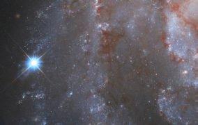ابرنواختر در کهکشان مارپیچی NGC 2525