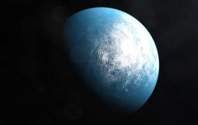 طرح گرافیکی سیارهی فراخورشیدی TOI-700d