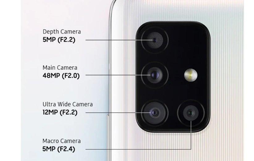 دوربین گلکسی A51 5G