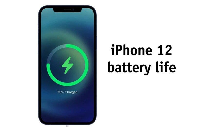 ظرفیت و طول عمر باتری آیفون 12