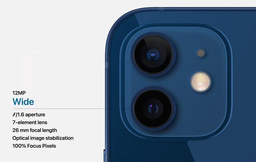 دوربین آیفون 12 مینی