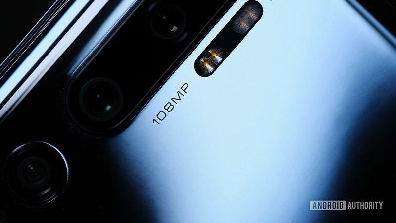 تصویری از ماژول دوربین شیائومی Mi Note 10 Pro
