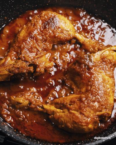 طرز تهیه زرشک پلو با مرغ دو نفره