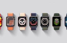 اپل واچ با سیستم عامل watchOS 7.0.3