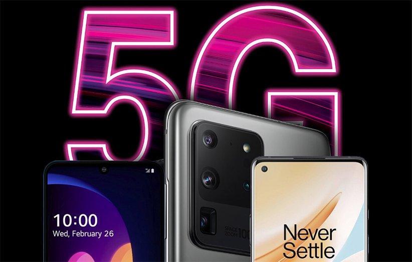 لیست بهترین گوشیهای موبایل 5G سال 2020