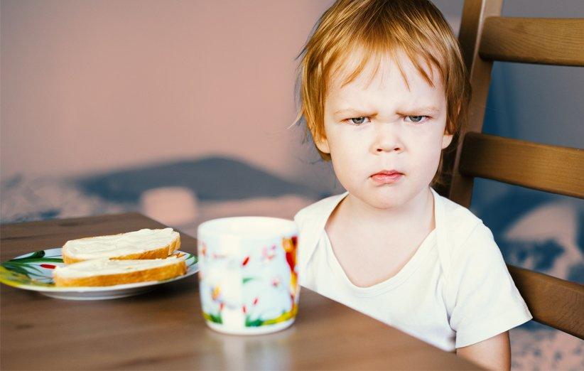 صبحانه برای بچههای بد غذا