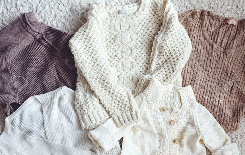 لباس بافتنی ظریف