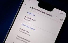 رمزنگاری موبایل
