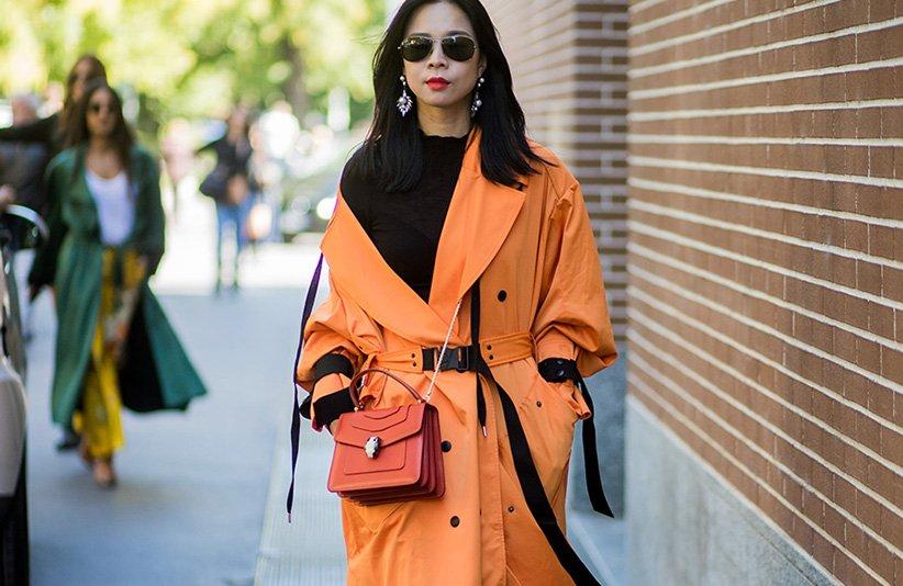مانتوی نارنجی