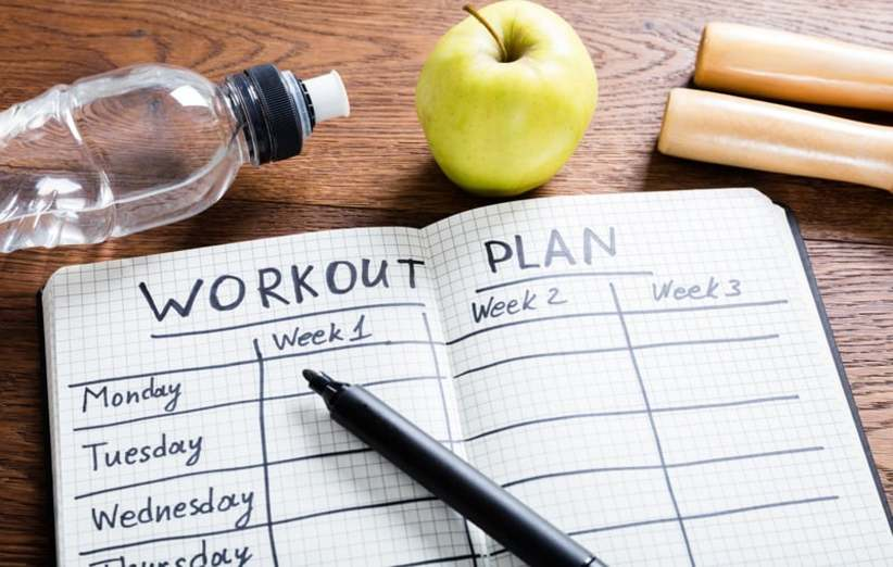 برنامه ریزی برای شروع ورزش