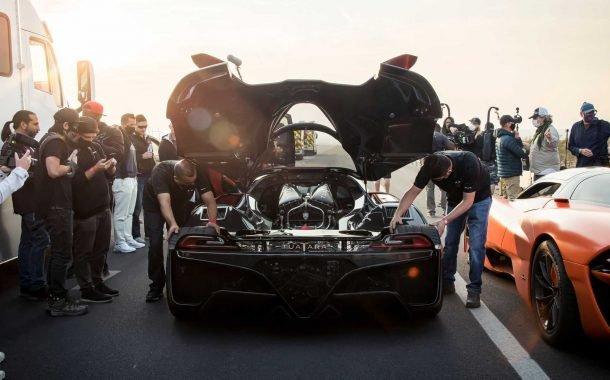 شکستن رکورد سرعت توسط تواتارا SSC