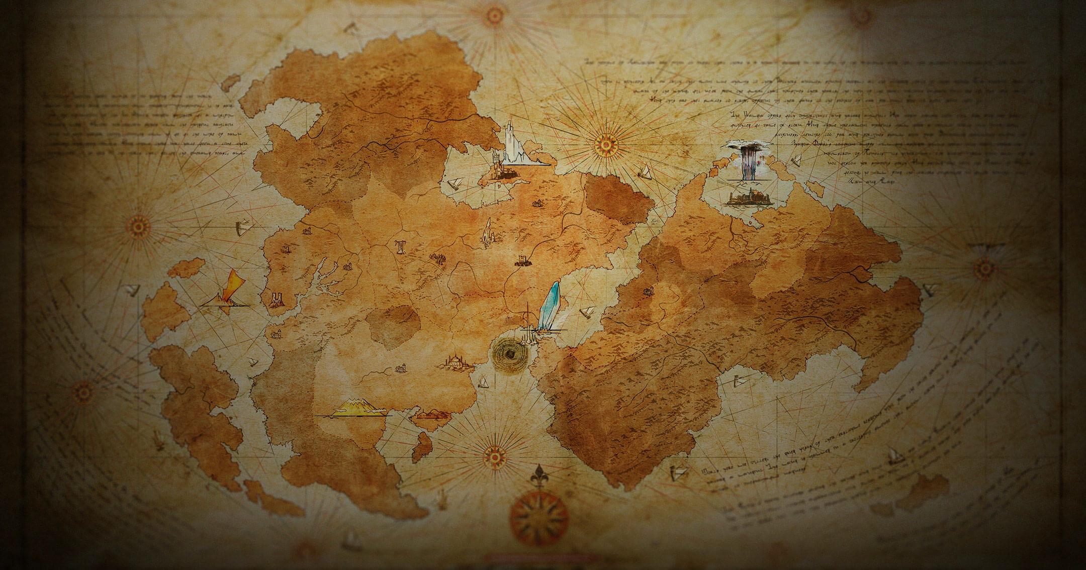 نقشه بازی Final Fantasy XVI