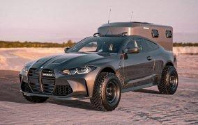 خودروی BMW M4 2021 آفرود