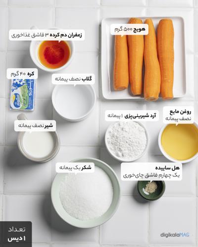 حلوای هویج چیست