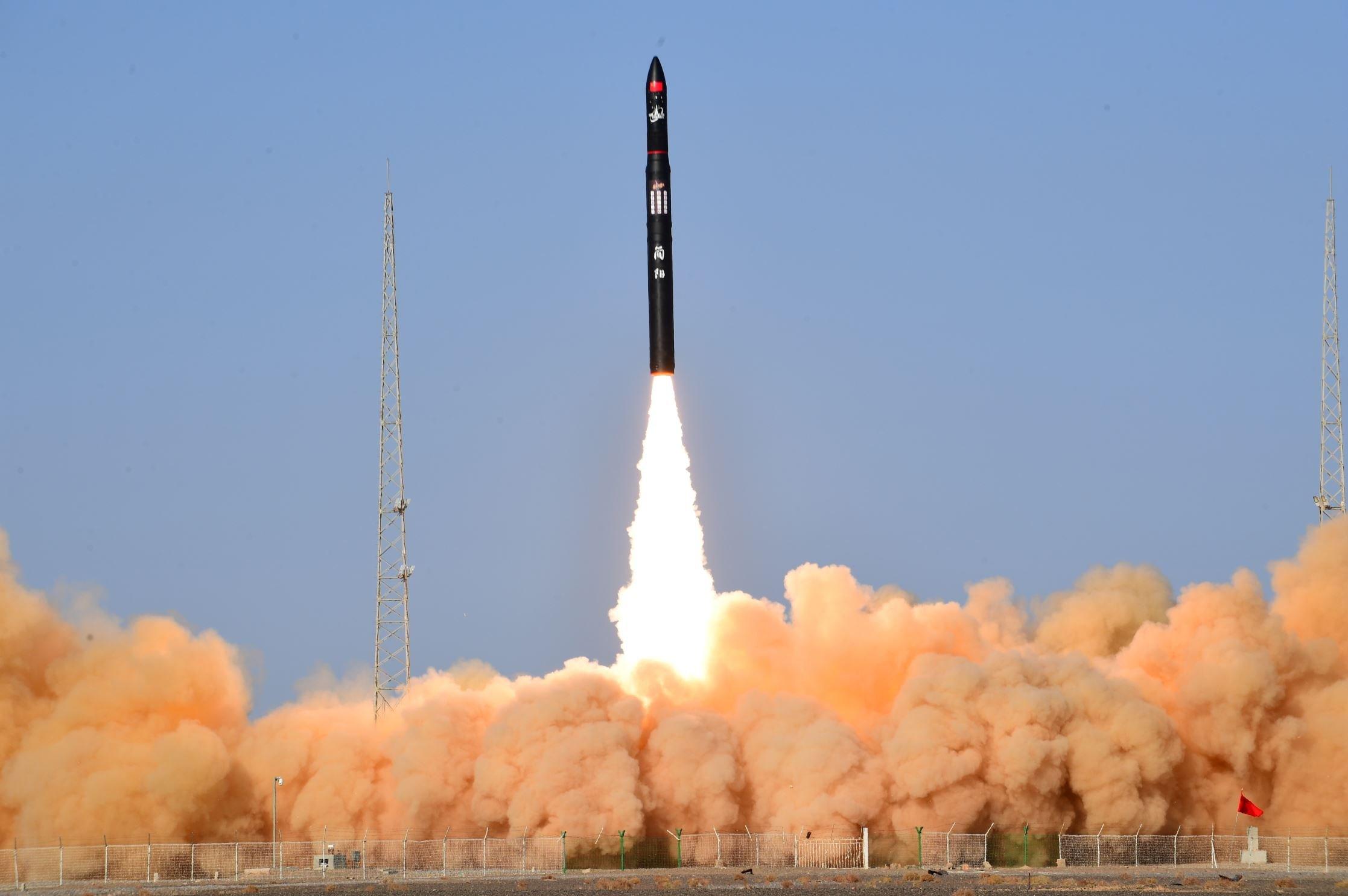 پرتاب موشک سرس-1 گلکتیک انرژی چین