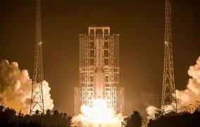 پرتاب موشک لانگ مارچ 5 حامل فضاپیمای نمونهبرداری «چانگای 5» چین از سطح ماه